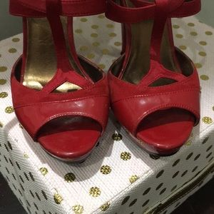 Kelly & Katie Shoes - Red sexy heels